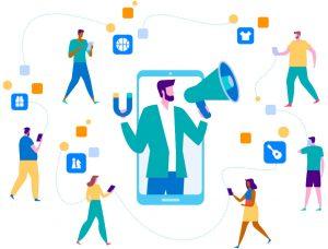 از لغات دیجیتال مارکتینگ اینفلوئنسر فردی است که به مخاطبان زیادی دسترسی دارد.